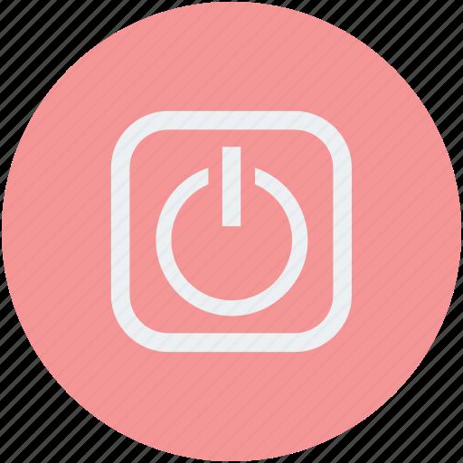 activation, on, power, turn on icon