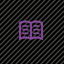 book, course, courses, reading icon