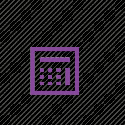 calc, calculate, calculator, finance, math, school, videography icon