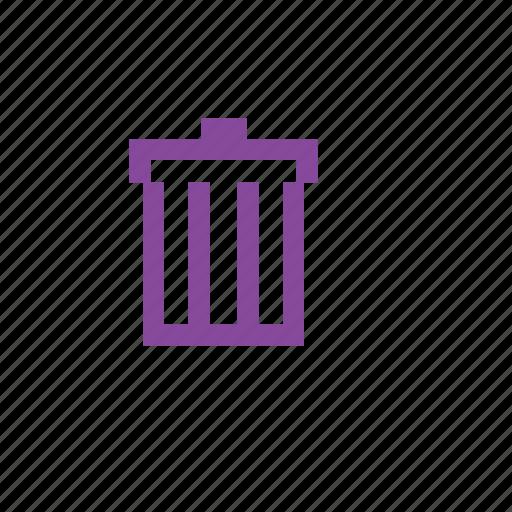 bin, dustbin, garbage, remove, trash icon
