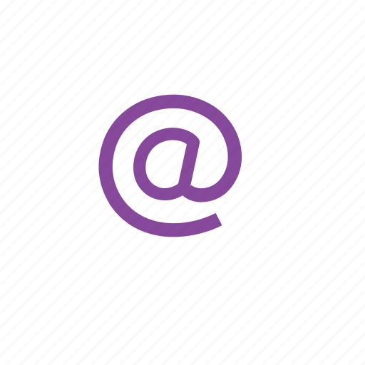 at, email, mail, message icon