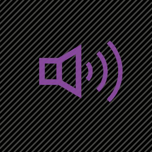 audio, full, music, sound, speaker, volume icon