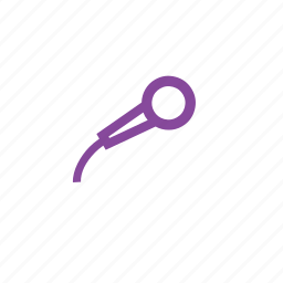 audio, mic, sound, speaker icon