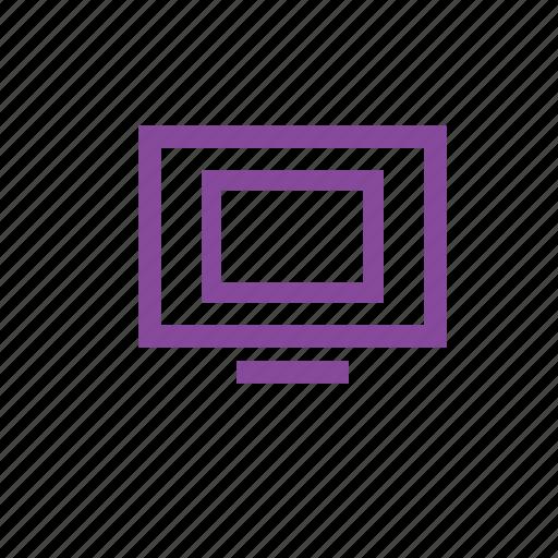 computer, display, moniter, monitor, screen icon