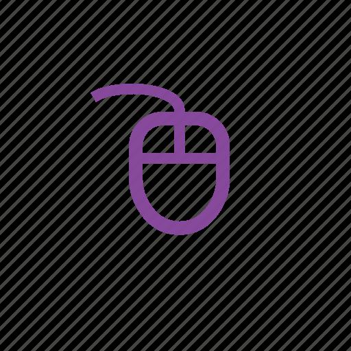 click, cursor, hardware, mouse, pointer icon