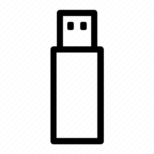 data, files, stick, storage, transfer, usb icon