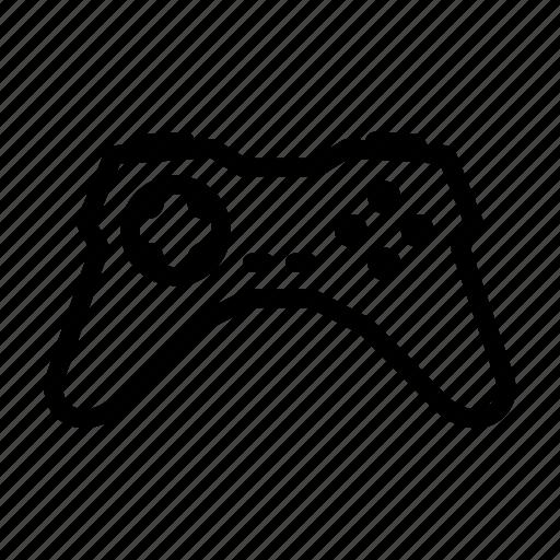 gamepad, joystick, line, outline icon