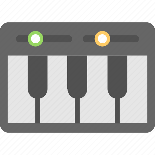 clavichord, musical instrument, orchestra, piano, piano keyboard icon