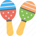 juggling, maraca, music, rattle, skittle icon