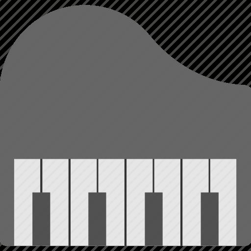 clavichord, grand piano, instrument, music, orchestra icon