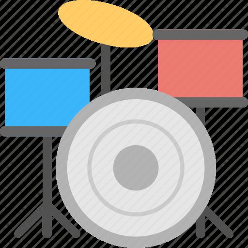 drum set, drums, melody, music, music instrument icon