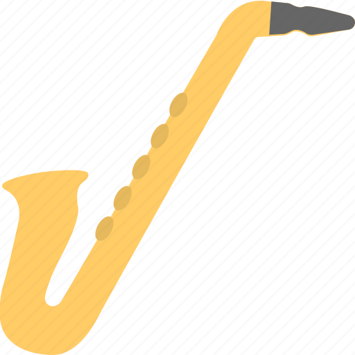 instrument, music, orchestra, saxophone, woodwind icon