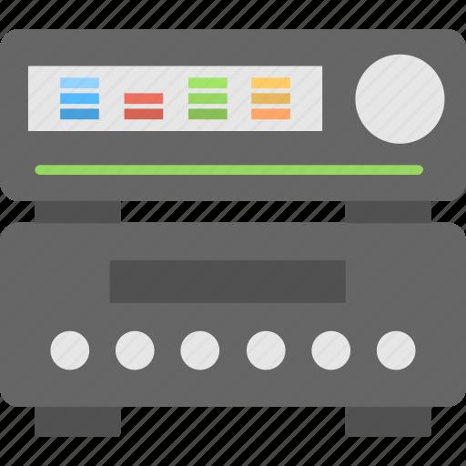 audio, media, mixer, multimedia, sound system icon