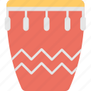 conga, drum, instrument, music, tumbadora icon