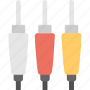 adapter, audio jack, cable, cord, jack icon