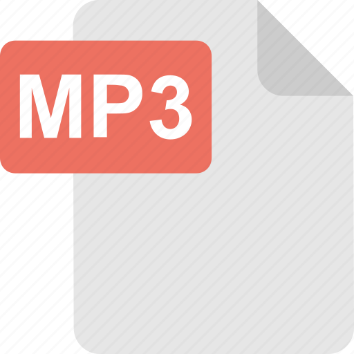 audio, extension, mp3, mp3 file, song icon