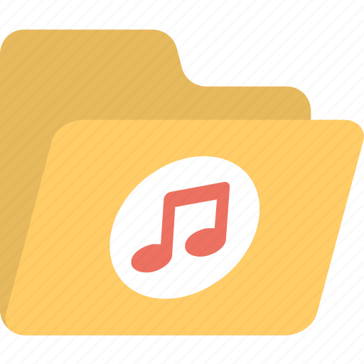 audio, folder, music, playlist, songs icon