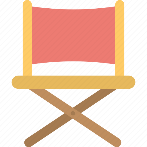 chair, director, folding chair, furniture, movie icon