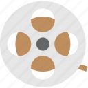 cinema, film, movie, multimedia, reel icon