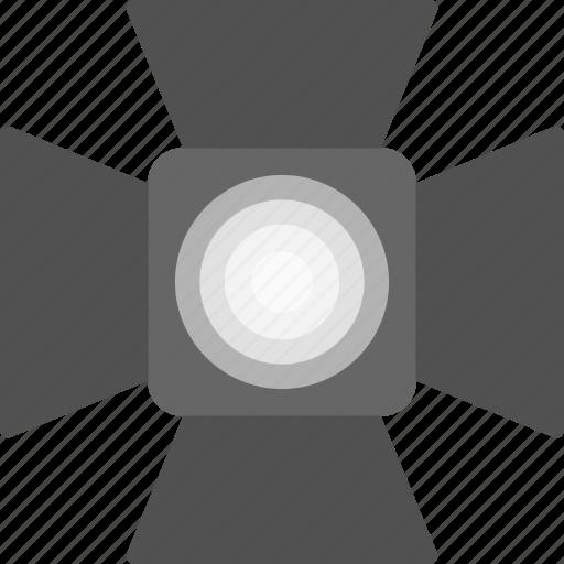 cinema, light, media, multimedia, spotlight icon