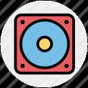 audio, loud, multimedia, music, sound, speaker, woofer icon