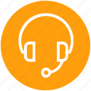 audio, earphone, headphone, headset, multimedia, music, sound icon