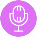 mic, microphone, mike, multimedia, music, sound, wireless microphone icon