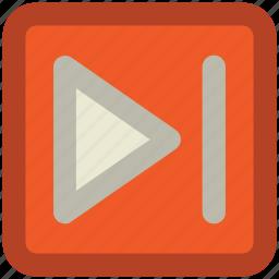 forward, forward arrow, forward button, next, next button, next track, right button icon