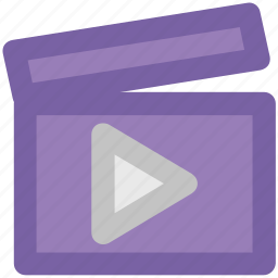 clapboard, clapper, clapper board, multimedia, music clapboard, shooting clapper icon