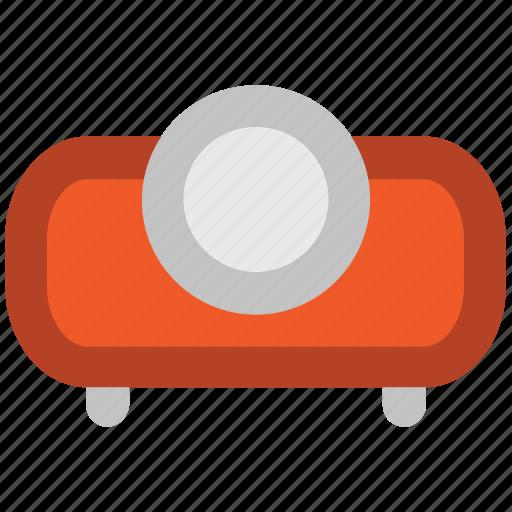 ceremonial, movie projector, multimedia, projector, projector device, video projector icon