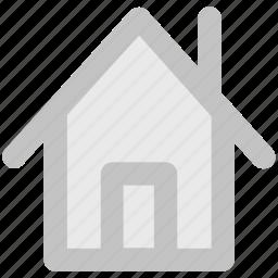 apartment, house, hut, location, shack, villa, village icon