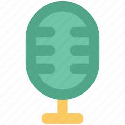 audio, mic, microphone, radio mic, recording mic icon