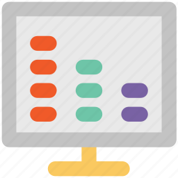 display, display screen, imac, lcd, led, monitor, tv icon