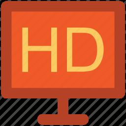 display, hd, hd screen, imac, lcd, led, monitor, tv icon
