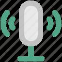 audio, loud, mic, microphone, radio mic, recording mic, retro