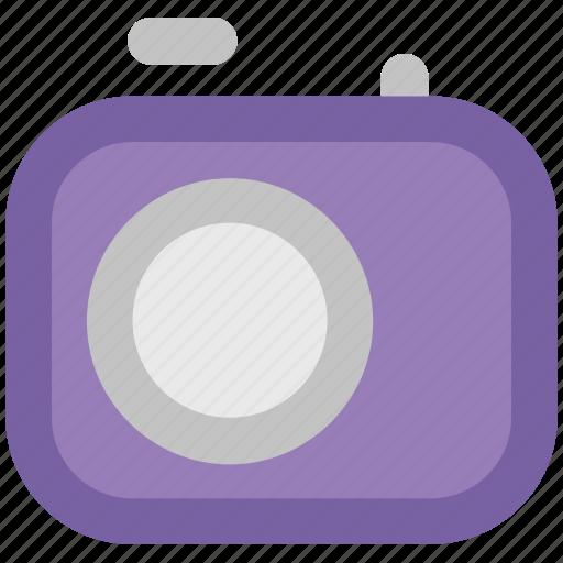 digicam, digital camera, photo camera, photo shot, photography, video camera icon