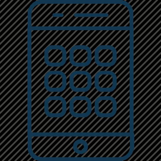 mobile, mobile app, mobile layout, mobile menu, mobile phone, smartphone icon