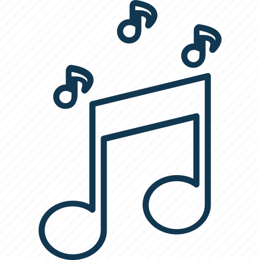 eighth note, music, music note, quaver icon