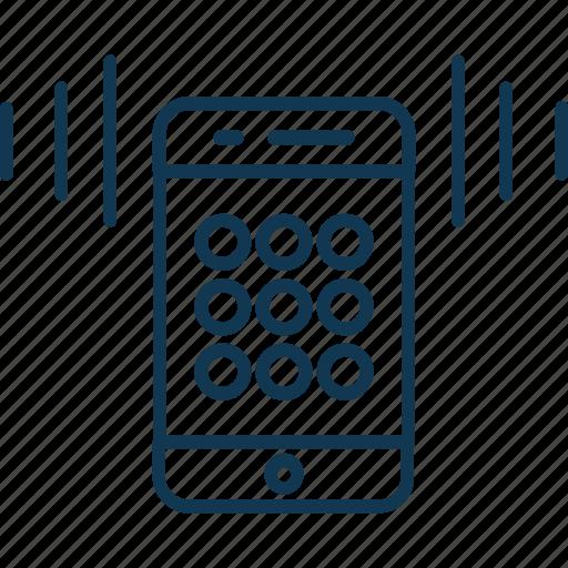 mobile, mobile ringing, mobile sound, mobile speaker, mobile volume, speaker icon
