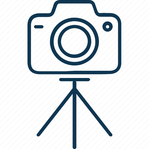 cam, camera, camera tripod, digital camera, photography, tripod icon