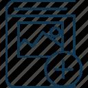 add landscape book, add sign, album, image album, landscape, plus sign icon