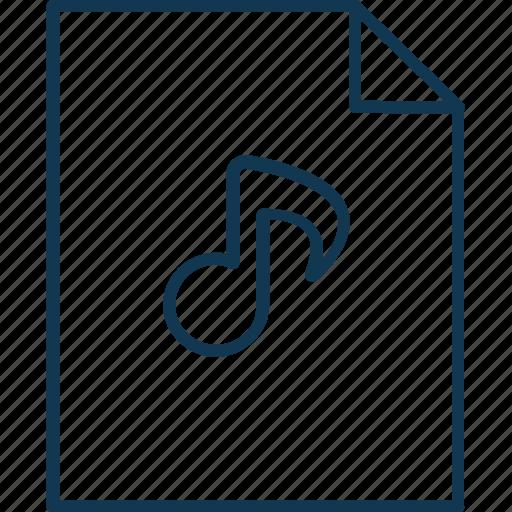 audio file, music album, music file, song, soundtrack icon