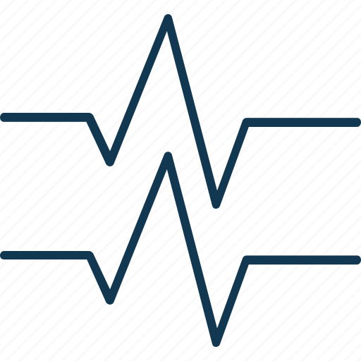 line waves, music sound wave, musical, sound, waves, zigzag music waves icon