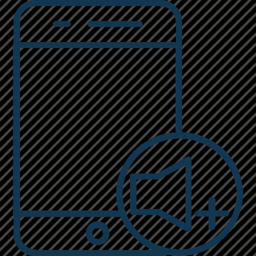 high volume, tab music, tablet music, tablet noise, tablet sound, tablet sound volume icon