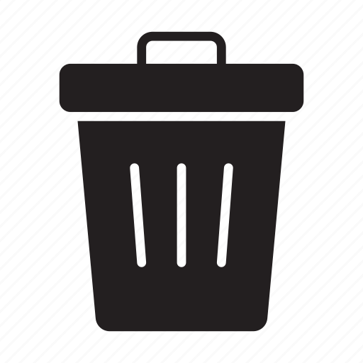 basket, delete, recyclebin, remove, trash icon