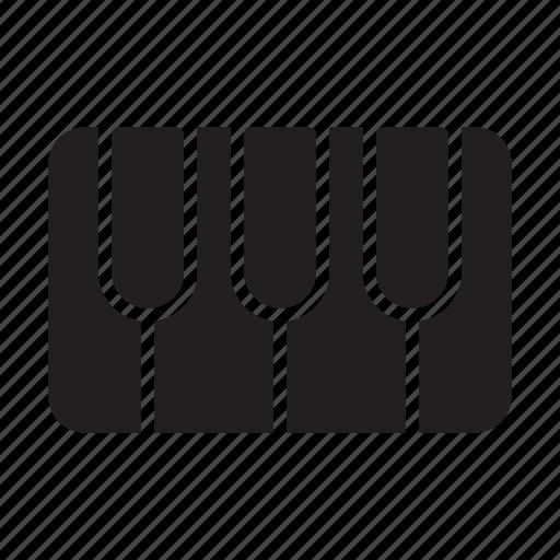 audio, media, music, piano, tiles icon