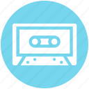 audio cassete, audio player, boombox, cassette, cassette player, tape recorder, walkman icon