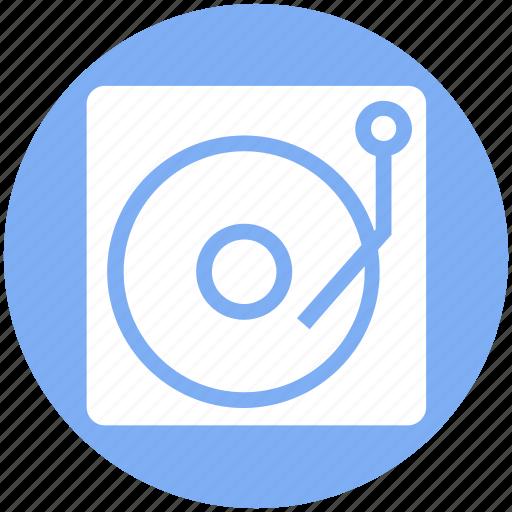 cd, disk, film, media, multimedia, music, play icon