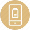 charge, charging phone, mobile battery, multimedia, phone, smartphone icon