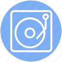 cd, disk, film, media, multimedia, music, play icon